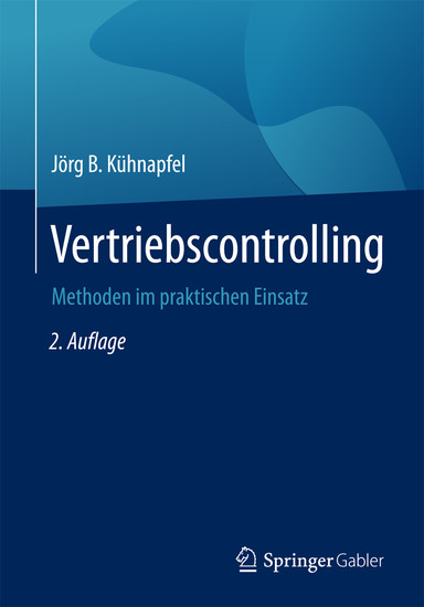 Vertriebscontrolling - Blick ins Buch