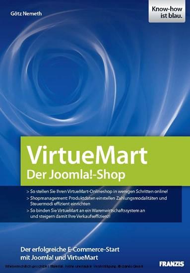 VirtueMart - Der Joomla!-Shop - Blick ins Buch