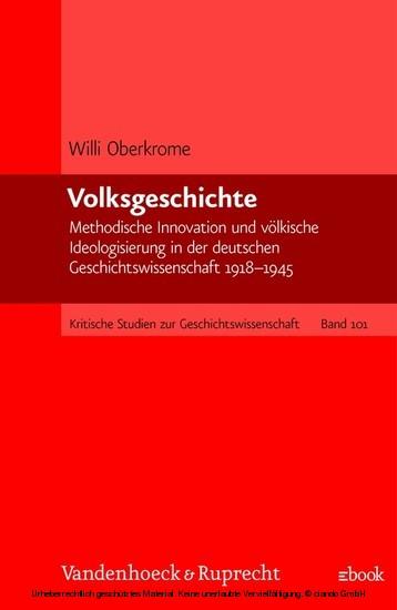 Volksgeschichte - Blick ins Buch