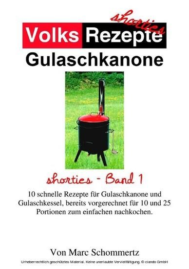Volksrezepte Gulaschkanone - Blick ins Buch