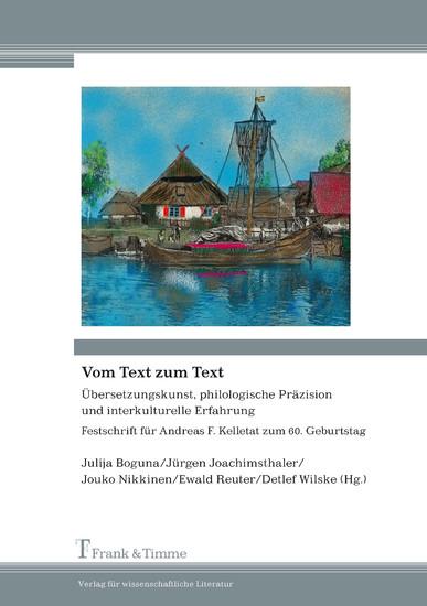Vom Text zum Text - Blick ins Buch