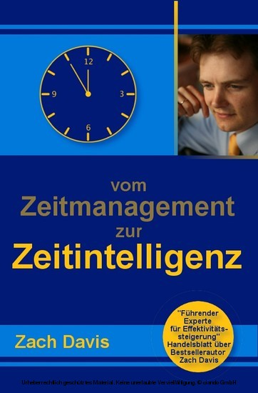 Vom Zeitmanagement zur Zeitintelligenz - Blick ins Buch