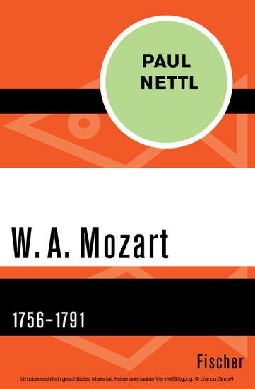 W. A. Mozart - Blick ins Buch