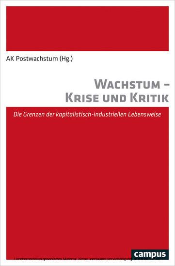 Wachstum - Krise und Kritik - Blick ins Buch