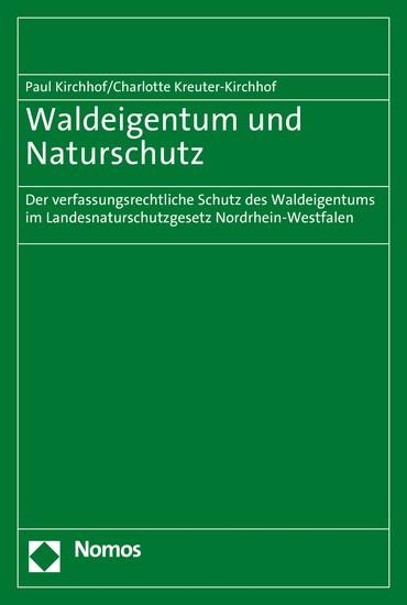 Waldeigentum und Naturschutz - Blick ins Buch