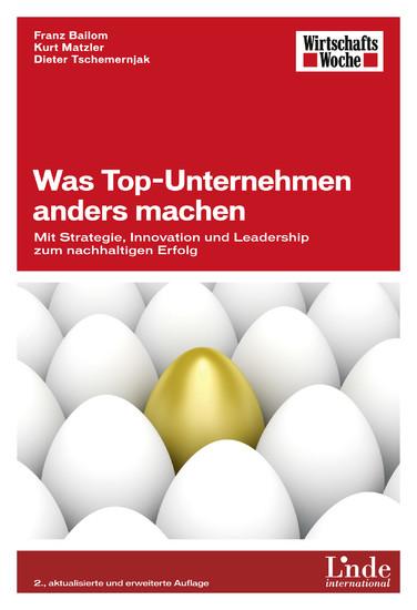 Was Top-Unternehmen anders machen - Blick ins Buch