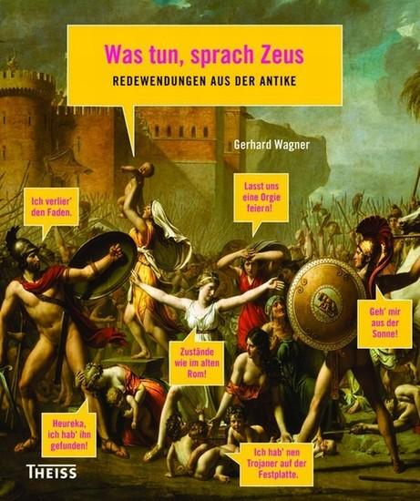 Was tun, sprach Zeus - Blick ins Buch