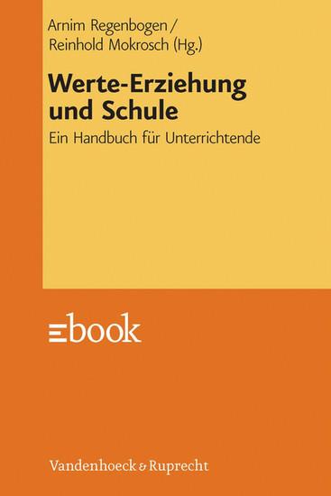 Werte-Erziehung und Schule - Blick ins Buch