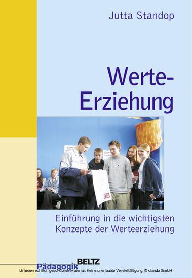 Werte-Erziehung - Blick ins Buch