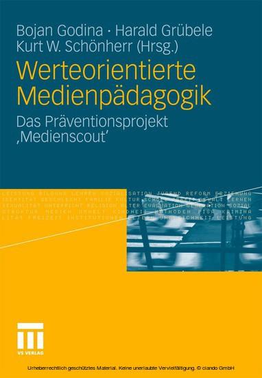 Werteorientierte Medienpädagogik - Blick ins Buch