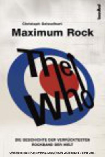 The Who - Maximum Rock I - Blick ins Buch
