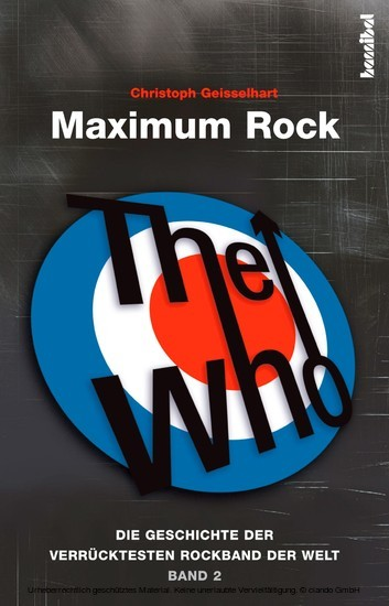 The Who - Maximum Rock II - Blick ins Buch