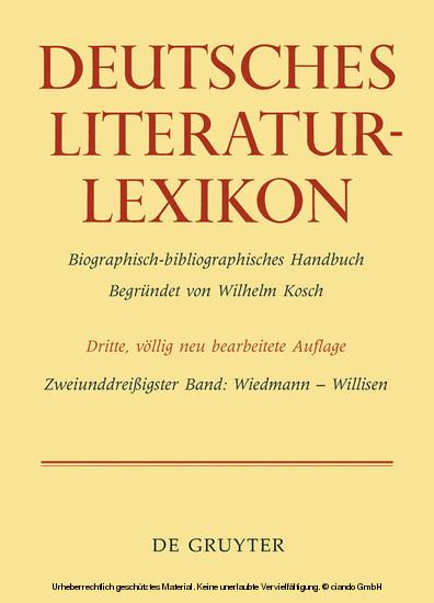 Wiedmann - Willisen - Blick ins Buch
