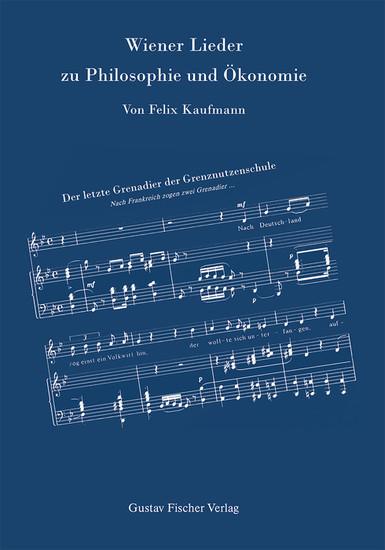 Wiener Lieder zu Philosophie und Ökonomie - Blick ins Buch