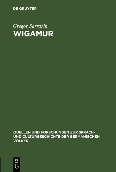 Wigamur - Blick ins Buch