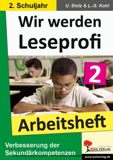 Wir werden Leseprofi - Arbeitsheft / Klasse 2 - Blick ins Buch