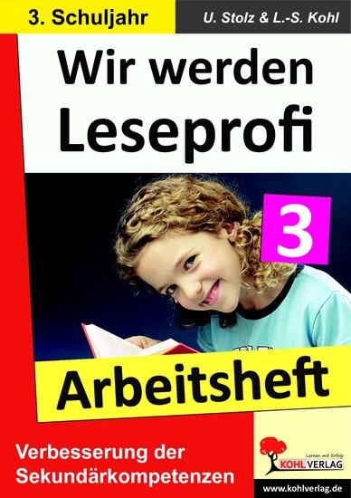 Wir werden Leseprofi - Arbeitsheft / Klasse 3 - Blick ins Buch