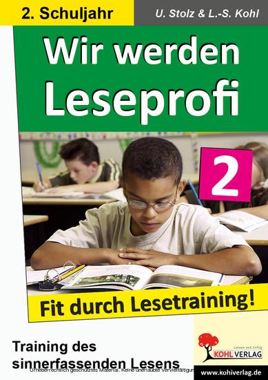 Wir werden Leseprofi / Klasse 2 - Blick ins Buch