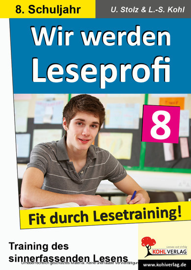 Wir werden Leseprofi / Klasse 8 - Blick ins Buch