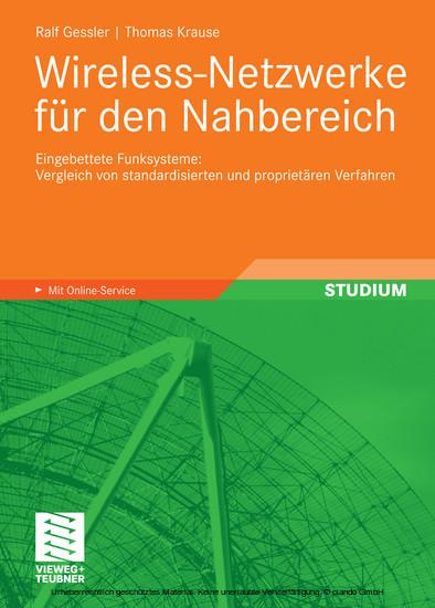 Wireless-Netzwerke für den Nahbereich - Blick ins Buch