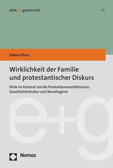Wirklichkeit der Familie und protestantischer Diskurs - Blick ins Buch
