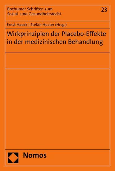 Wirkprinzipien der Placebo-Effekte in der medizinischen Behandlung - Blick ins Buch
