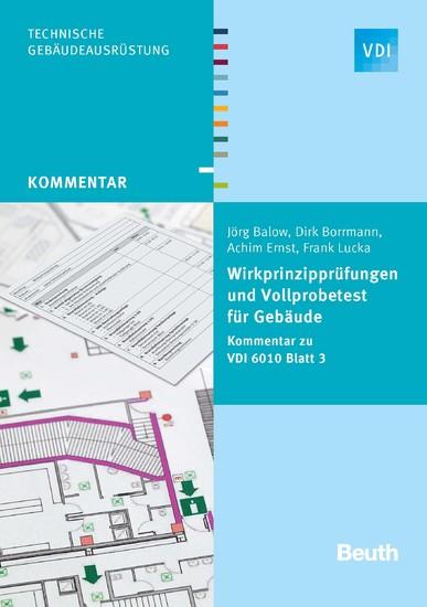 Wirkprinzipprüfungen und Vollprobetest für Gebäude - Blick ins Buch