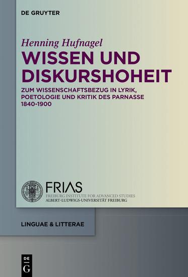 Wissen und Diskurshoheit - Blick ins Buch