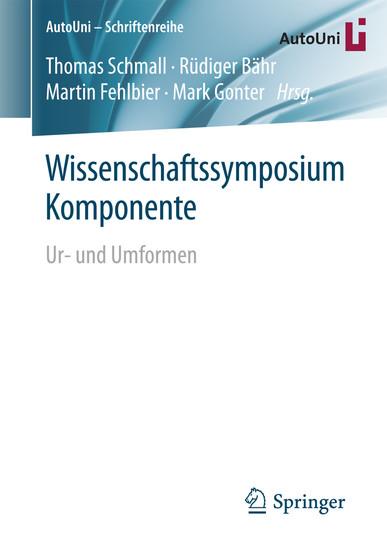 Wissenschaftssymposium Komponente - Blick ins Buch