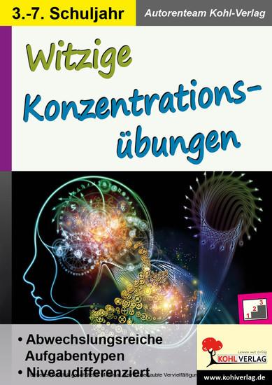 Witzige Konzentrationsübungen - Blick ins Buch