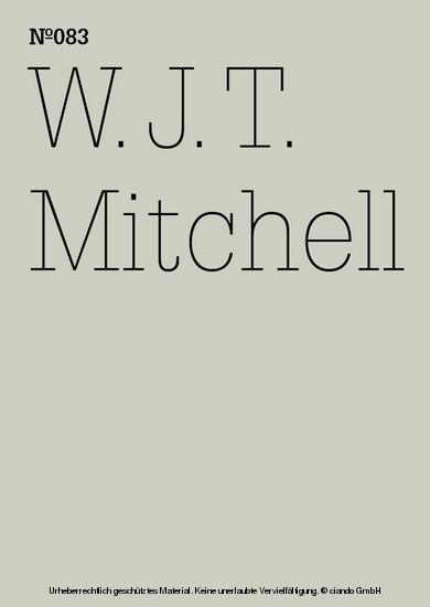 W.J.T. Mitchell - Blick ins Buch