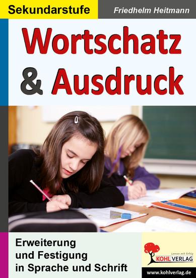 Wortschatz & Ausdruck - Blick ins Buch