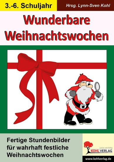 Wunderbare Weihnachtswochen - Blick ins Buch
