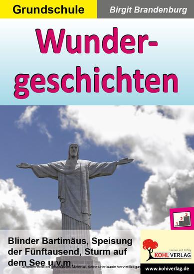 Wundergeschichten - Blick ins Buch
