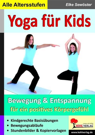 Yoga für Kids - Blick ins Buch