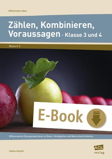 Zählen, Kombinieren, Voraussagen - Klasse 3 und 4 - Blick ins Buch
