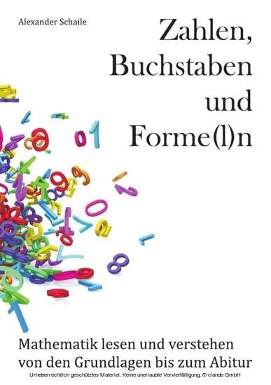Zahlen, Buchstaben und Forme(l)n - Blick ins Buch