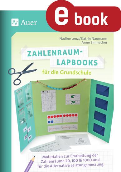 Zahlenraum-Lapbooks für die Grundschule - Blick ins Buch