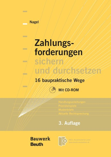Zahlungsforderungen sichern und durchsetzen - Blick ins Buch