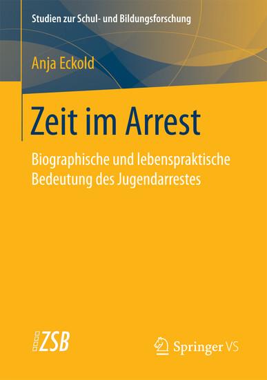Zeit im Arrest - Blick ins Buch