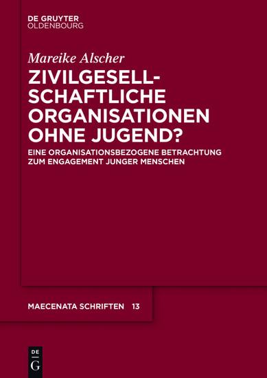 Zivilgesellschaftliche Organisationen ohne Jugend? - Blick ins Buch
