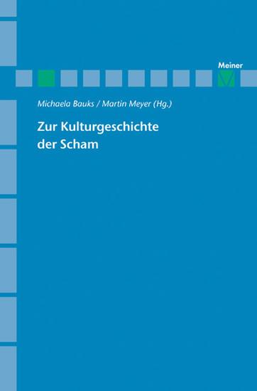 Zu Kulturgeschichte der Scham - Blick ins Buch