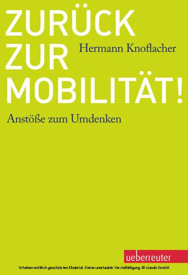 Zurück zur Mobilität! - Blick ins Buch