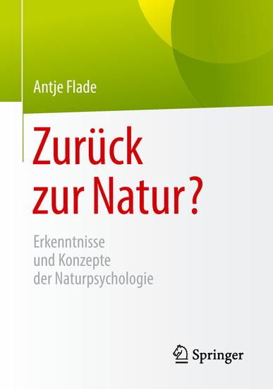 Zurück zur Natur? - Blick ins Buch