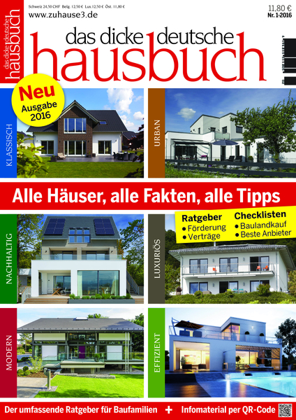 Das Dicke Deutsche Hausbuch Fachzeitschrift Haus Garten