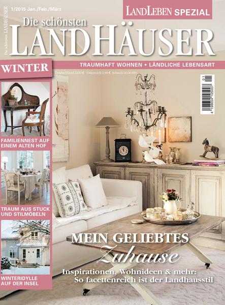 die sch nsten landh user fachzeitschrift haus garten lifestyle wohnen. Black Bedroom Furniture Sets. Home Design Ideas