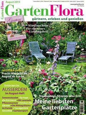 gartenflora fachzeitschrift garten pflanzen. Black Bedroom Furniture Sets. Home Design Ideas
