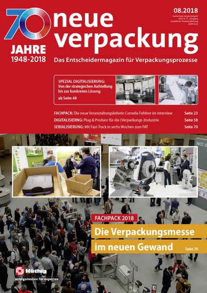 neue verpackung fachzeitschrift verpackungstechnik verpackungsmaschinen veredelung. Black Bedroom Furniture Sets. Home Design Ideas