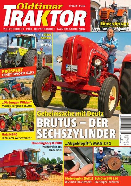 oldtimer traktor fachzeitschrift nutzfahrzeuge