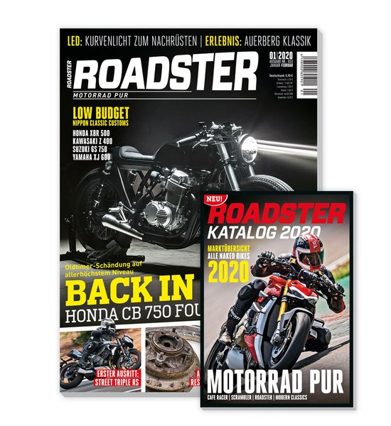 roadster fachzeitschrift motorrad bike gespanne. Black Bedroom Furniture Sets. Home Design Ideas